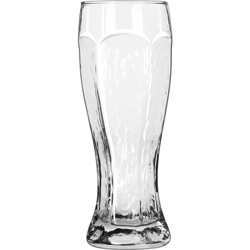 Libbey Chivalry Beer Glass, 23 Oz