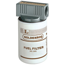 Goldenrod 56606 10 Micron Fuel Filter w/Top Cap