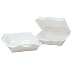 Genpak 25000 White Take Out Jumbo Containers