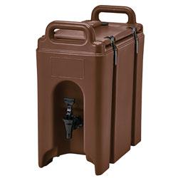 Cambro Camtainer® 2.5 Gallon Capacity Dark Brown