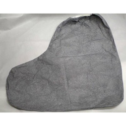Dupont Tyvek FC Boot Cover, 16 in, Gray, 100/Carton