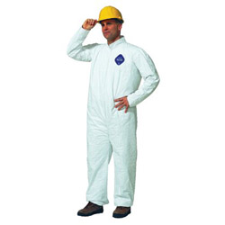 Dupont Tyvek Coverall Zip Ft Size Large