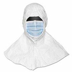 Extensis Tyvek Apron, 28 x 36, White, Flashspun Polyethylene