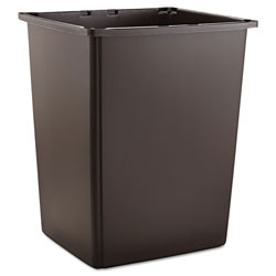 Rubbermaid Glutton Container, Rectangular, 56 gal, Brown