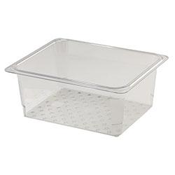 Cambro Food Pan Colander 1/2 X 5 in Camwear® Clear