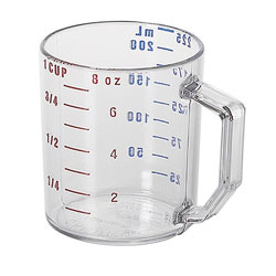 Cambro Measuring Cup 1 Cup Clear