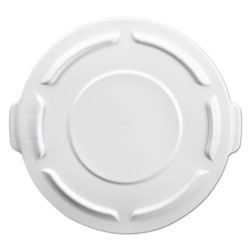 Rubbermaid White Round Brute Lid for 2610 Container