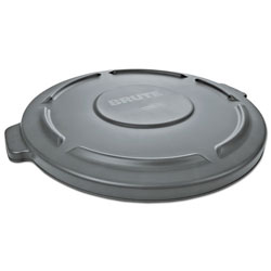 Rubbermaid Brute Gray Round Lid for 2655 Container