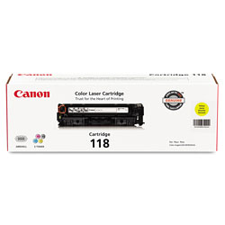 Canon Toner Cartridge 118, Yellow