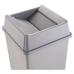 Rubbermaid Gray Square Top