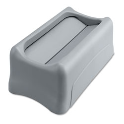 Rubbermaid Gray Swing Top For Slim Jim Waste Containers