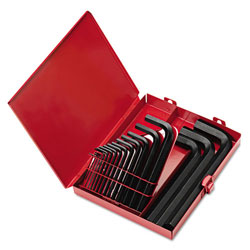 Eklind Tool Company 18-Piece SAE Short-Arm Hex Key Set