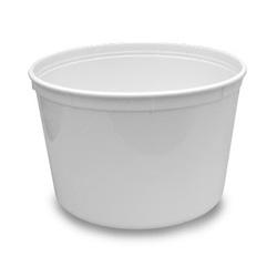 Berry Plastics Plastic Container, 64 oz, Translucent