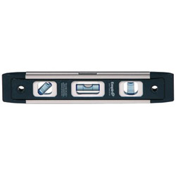 Empire Level em81 Series True Blue Torpedo Level, 9 in Long, Aluminum, Tri-Vial