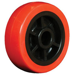"Ez Roll 3"" x 1.25"" Polyurethane Tread Poly Core Wheel 3/"