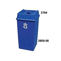 Rubbermaid 2794 Paper Recycling Top for 3958-06, 3959-06 Containers
