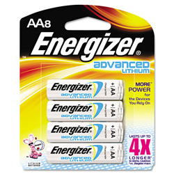 Energizer Advanced Lithium EA91BP-8 - Battery - AA - Li X 8