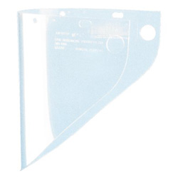 Fibre-Metal High Performance Faceshield Window, 9 3/4 in