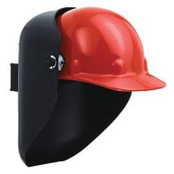 Fibre-Metal Protective Cap Welding Helmet Shells, #10, Gray, 4 1/2 in x 5 1/4