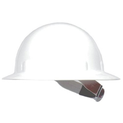 Fibre-Metal HAT-THERMOPLASTIC WHITEW/3-S SWINGSTRAP