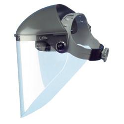 Fibre-Metal High Performance Faceshield Headgear, 7 in Crown