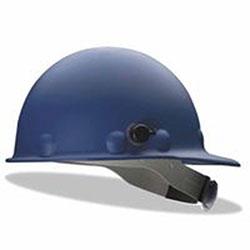 Fibre-Metal Roughneck P2 Series Protective Caps with Quick-Lok, 8 Point Ratchet, Blue
