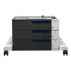 HP Paper Feeder And Stand for LaserJet CP5525, 3 Drawers of 500 Sheets