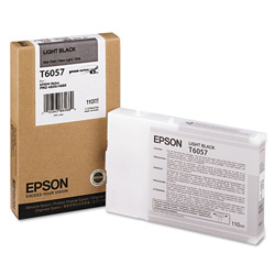 Epson T6057 - Print Cartridge - 1 x Light Black
