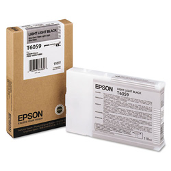 Epson T6059 - Print Cartridge - 1 x Light Light Black