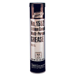 Lubriplate 14 Oz 1552 Grease Gun Cartridge