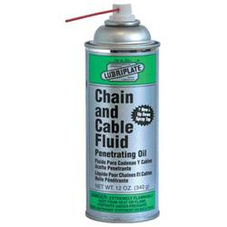 Lubriplate 12 Oz Chain & Cable Fluid Aerosol