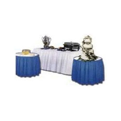 "Atlantis Plastics 2TCB300 Blue Plastic Table Covers, 40"" x 300"""