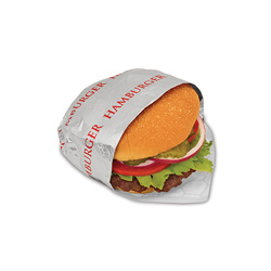 Bagcraft Foil/Paper Honeycomb Insulated Wrap  inHamburger in