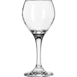 Libbey 8 Ounce Perception Red Wine Glass, Case of 24
