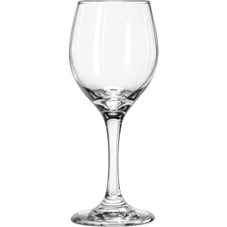 Libbey 8 Ounce Perception White Wine Glass, Case of 24