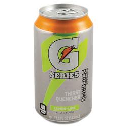 Gatorade Thirst Quencher Can, Lemon-Lime, 11.6oz Can, 24/Carton