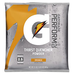 Gatorade Original Powdered Drink Mix, Orange, 21oz Packet, 32/Carton