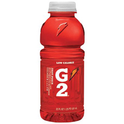 Gatorade 20 Oz G2 Fruit Punch Wide Mouth Bottles