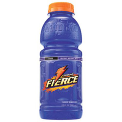 Gatorade Sports Drink, Wide Mouth Bottle, Fierce Grape, 20 Oz, Case of 24