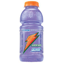 Gatorade Sports Drink, Wide Mouth Bottle, Riptide Rush, 20 Oz, Case of 24