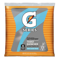 Gatorade Powdered Drink Mix, Glacier Freeze, 21oz Packet, 32/Carton