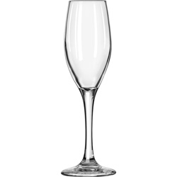 Libbey 3096 5 3/4 Ounce Perception Flute Glass