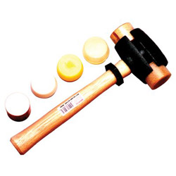 Garland Manufacturing Split-Head Rawhide Hammer, Size 4