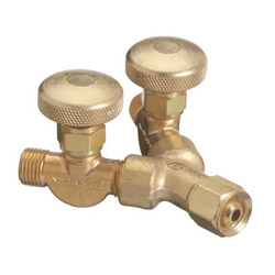 Western Enterprises Y Connection w/Valves