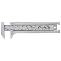 "General Tools 3"" Pocket Caliper Ss"