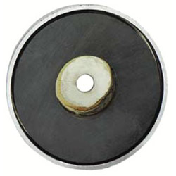 "General Tools 2-5/8"" Diameter Shallow Potmagnet 35-lb Pull"
