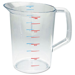 Rubbermaid Bouncer Measuring Cup, 4qt, Clear