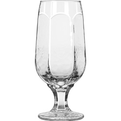 Libbey Chivalry Beer Glass, 12 Oz
