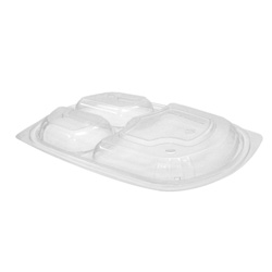 Anchor Packaging MicroRaves 3 Section Dome Lid