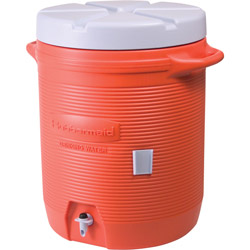 Rubbermaid Water Cooler Orange 10gl#11624